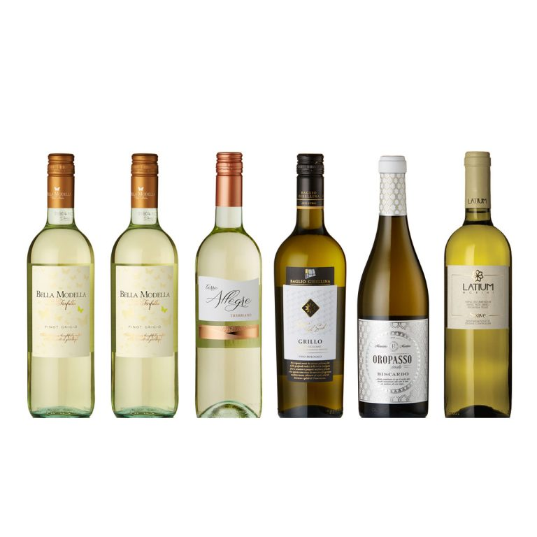 Mixed Italian White Case Available for UK Delivery